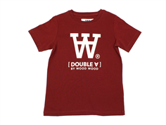 Wood Wood t-shirt Ola dark red